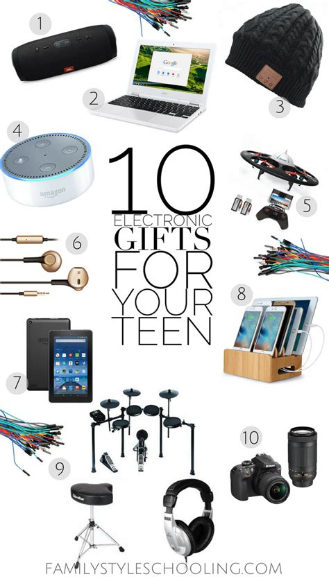 electronic gifts   teen family style schooling