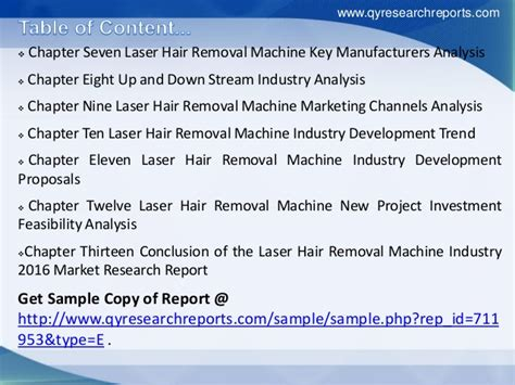 Gilette Invests In Home Laser Hair Removal Research by Global Laser Hair Removal Machine Industry 2016 Market