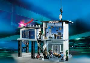 Image de playmobil city action commissariat de police avec syst 232 me