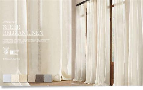 restoration hardware sheer curtains restoration hardware sheer curtains 28 images
