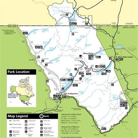 montana national parks map exploring glacier national park montana exploration