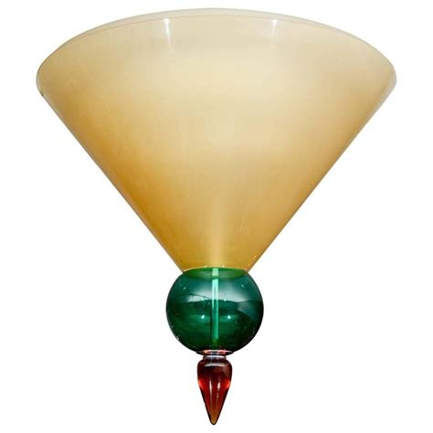 Murano Glass Ceiling Light by Ceiling Light In Murano Glass For Sale At 1stdibs