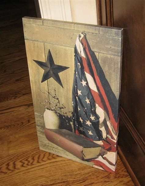 primitive americana barn star wall decor home decor 1000 ideas about american flag pictures on pinterest