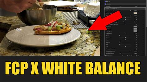 final cut pro white balance how to white balance in final cut pro color correction