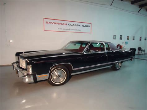 old cars and repair manuals free 2013 lincoln mks parking system 1976 lincoln continental 2 door 7 5l for sale lincoln continental 1976 for sale in savannah