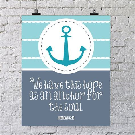 Love Anchors The Soul 8x10 - instant download 8x10 printable bible verse hebrews 6 19