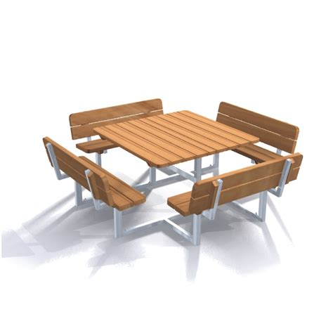 park bench table table bench quadro tables park street furniture