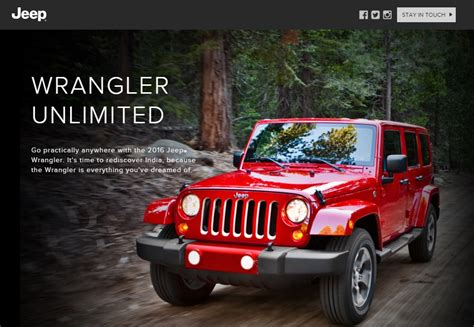 Jeep Website Jeep Launch In February Website Up 3 Models Confirmed