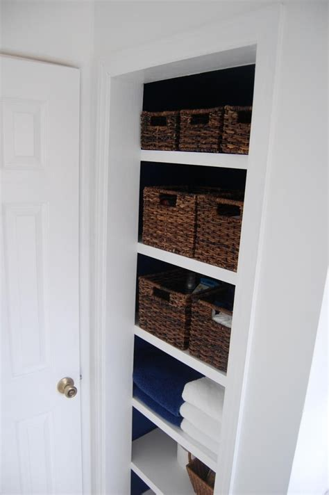 how to build linen closet with floating shelves kingdom