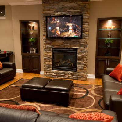 family room ideas with fireplace family room decorating ideas with fireplace actual home