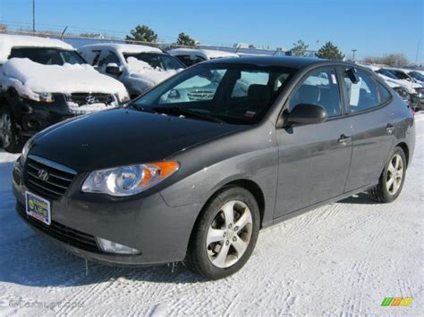 2007 Hyundai Elantra Limited by Carbon Gray 2007 Hyundai Elantra Se Sedan Exterior Photo
