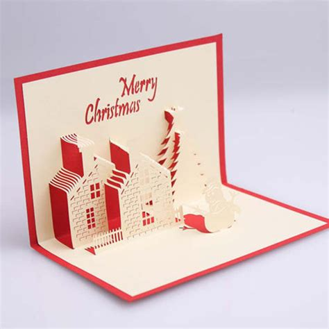 Paper For Cards - three dimensional paper greeting empty card