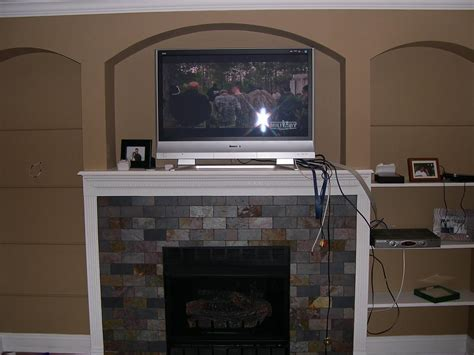 Should I Smurf My Cables Behind the Fireplace or Run Them ... Hdmi Cable To Tv Setup