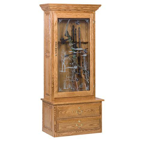 classics gun cabinet gun cabinet single door shipshewana furniture co
