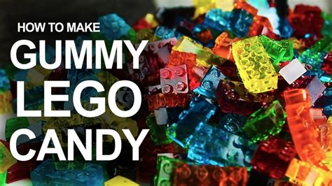 this is how you can make your lego gummy candy