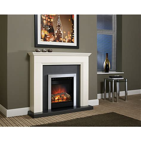 Cheap Electric Fireplace Suites by Be Modern Westcroft Electric Suite Wickes Co Uk