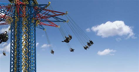 highest swing ride in the world world s tallest starflyer swing ride coming to