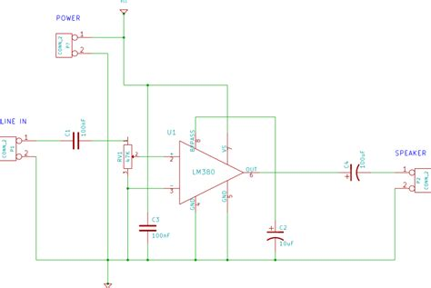 capacitor polarity in circuit schematics what s the use of the bypass capacitor on the lm380 lifier electrical