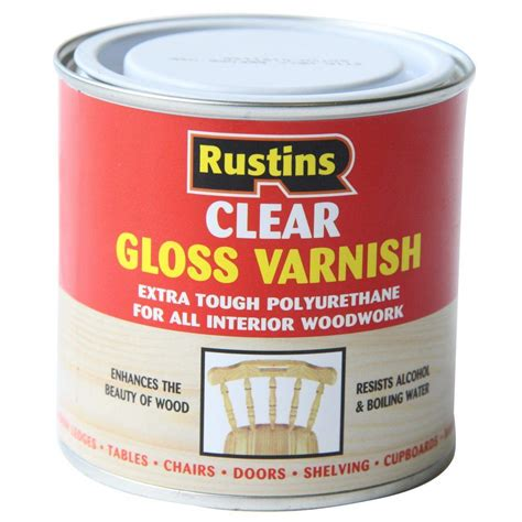 Mat Varnish by Rustins Polyurethane Clear Varnish Gloss Matt Satin All Sizes Available Ebay