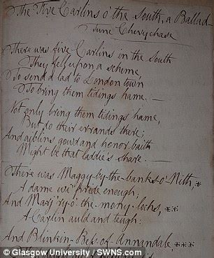 poems  rabbie burns    distinguished
