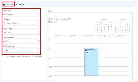 Calendrier On Line G 233 Rer Agenda Avec Le Calendrier Outlook D Office
