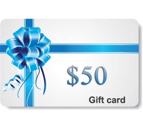 50 Gift Card - 50 gift card perfect note