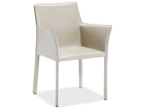 interlude home mediterranean sand arm dining chair il