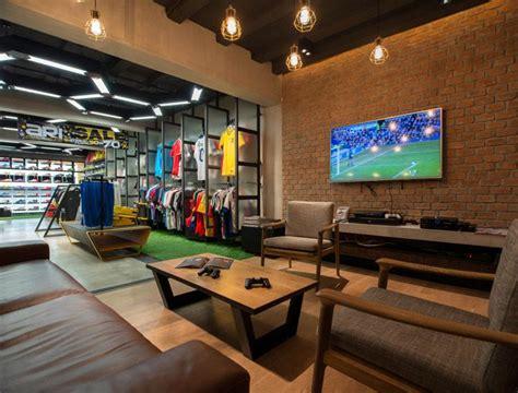 sports store retail design shop interior sports
