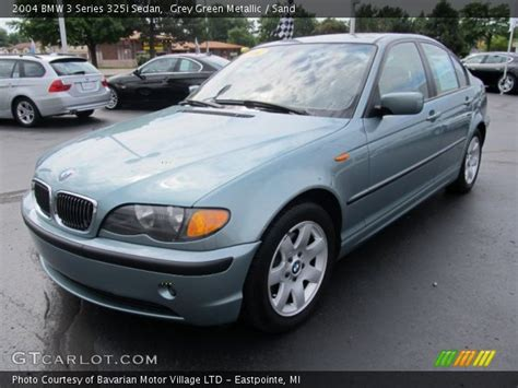 2004 bmw 325i interior grey green metallic 2004 bmw 3 series 325i sedan sand