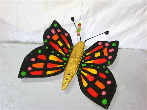 How To Make A Paper Mache Butterfly - paper mache butterfly search education and