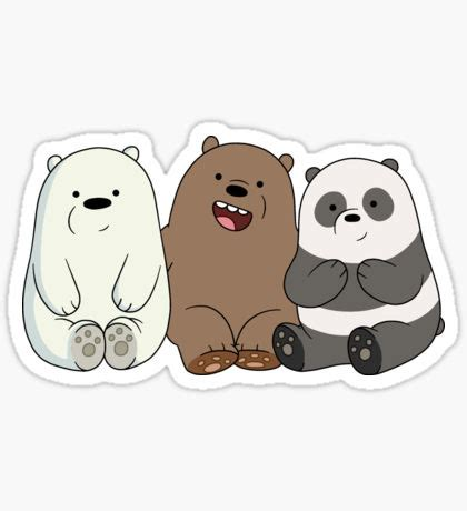 We Bare Bears Baby Iphone All Hp we bare bears cubs babies sticker Ꮯute stickers