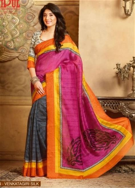 Dewi Blouse Grey T3009 2 the 156 best images about synthetic fancy sarees on