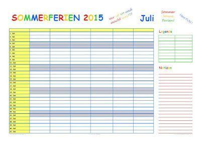 wann enden die sommerferien 2015 ferienplan 2015
