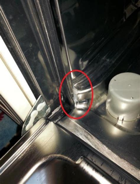 Dishwasher Leaking Through Floor - leaking door photos the photo above shows a door