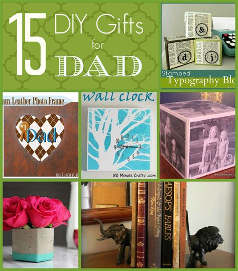 15 diy gift ideas for dad just paint it blog