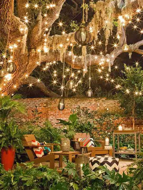 Outdoor Backyard Lighting Ideas 26 Breathtaking Yard And Patio String Lighting Ideas Will Fascinate You Amazing Diy Interior