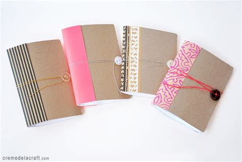 How To Make A Diary Out Of Paper For - diy mini notebook from a cereal box