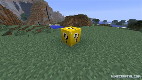 lucky block mod minecraft mods lucky block mod download for minecraft 1 8 1 6