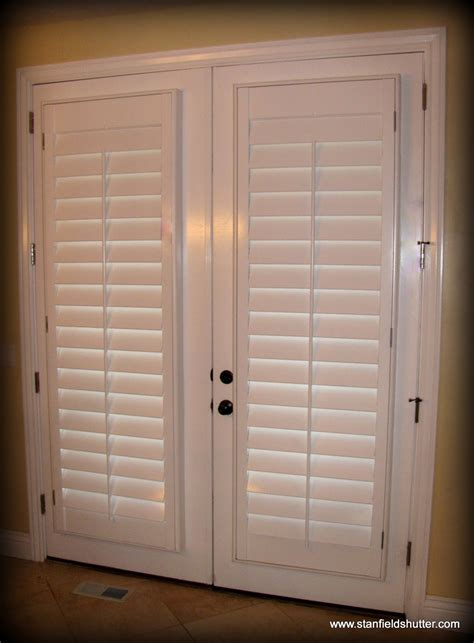 Plantation Shutters On Doors stanfield shutter co gallery