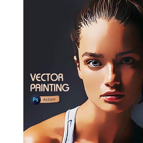tutorial vector face photoshop vector painting photoshop action by irmuundesign