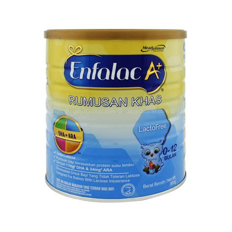 lactose free baby jaya grocer enfalac a lactofree 0 12 months infant