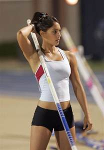 Hey allison did you know that pole vault is my favorite sport the
