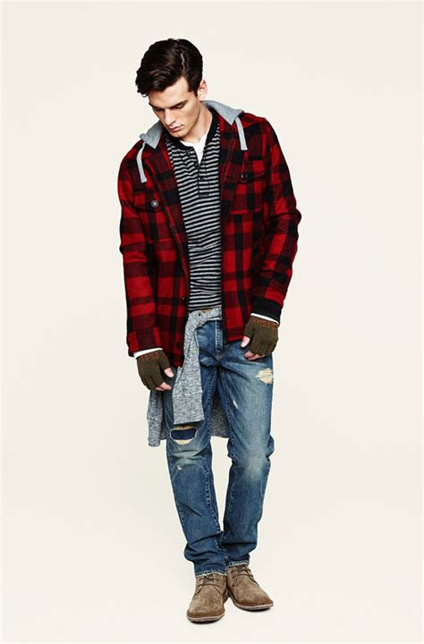 teenager 2015 latest fashion dude brendan ruck for american eagle holiday 2010 lookbook