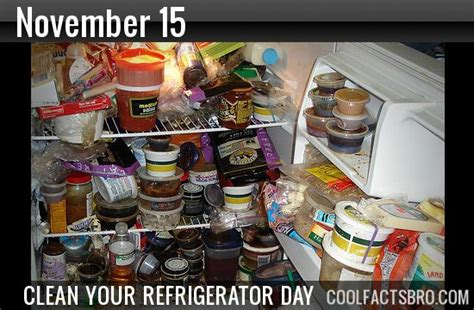 Out And About Nation 15 by National Clean Out Your Refrigerator Day November 15