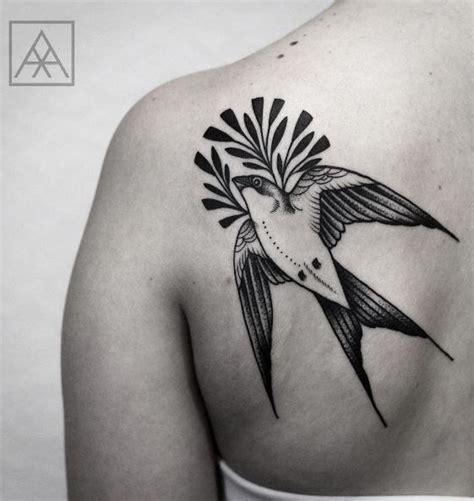 black and white swallow tattoo designs 30 spectacular black bird designs amazing