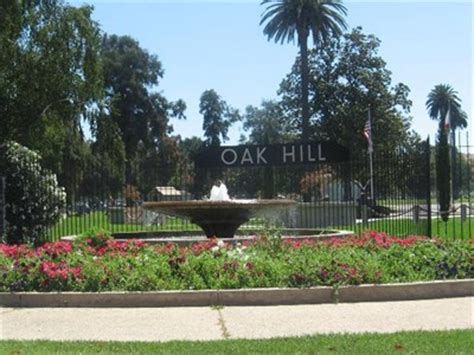 oak hill memorial park outside san jose ca