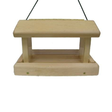 shop birds choice cedar hopper bird feeder kit at lowes com