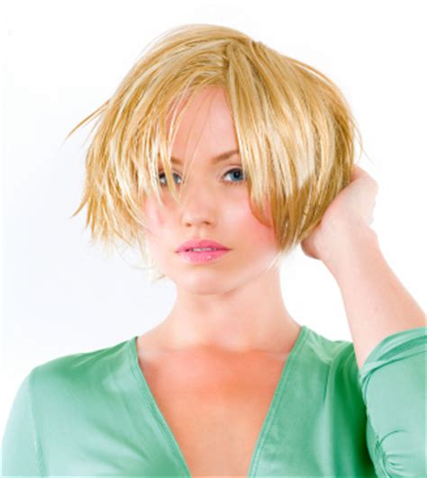 razor cut layers around face hairstyles for round faces choppy razor cut bob
