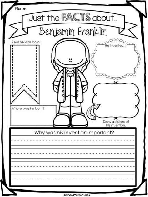 benjamin franklin biography worksheet best 25 benjamin franklin biography ideas on pinterest