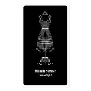 business cards for fashion stylists fashion stylist business card zazzle